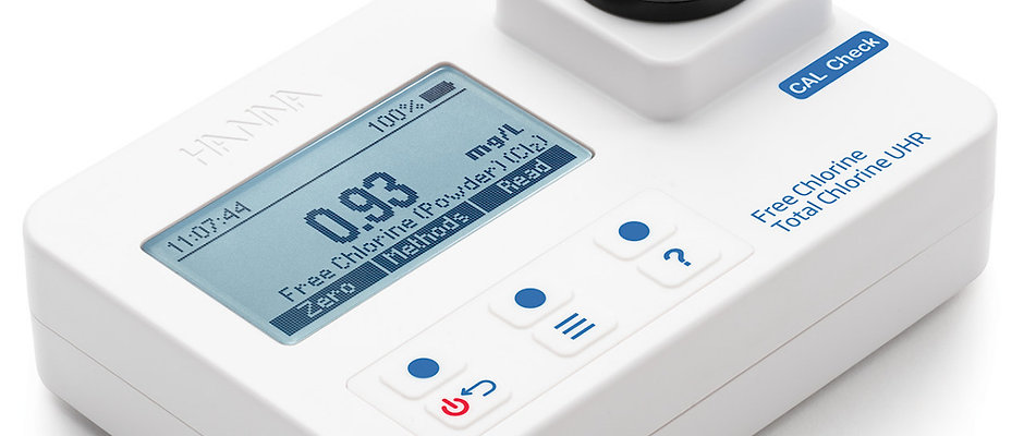 Free & UHR Total Chlorine Portable Photometer