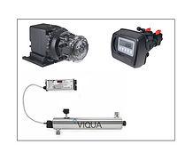 Stenner pump, Fleck 5600, viqua, uv system, S8Q-PA, S5Q-PA, Sterilight