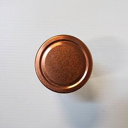 70x18 Copper Ergo Jar Lid  Storage