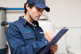 service technician, water technician, service tech, water treatment, water sampler