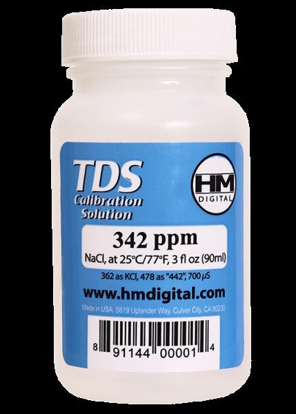 C-342 TDS and EC Calibration Solutions