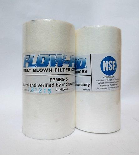 FPMB5-5 Melt-Blown Polypropylene Filter Cartridge