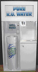 bottle washer, water dispenser, water vending, water store