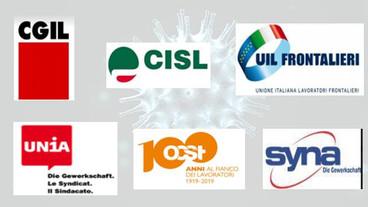 Comunicato unitario delle OO.SS. italiane e svizzere EMERGENZA Covid-19: SERVE UNA STRATEGIA COMUNE