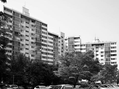 10th block Apartment in Mokdong district