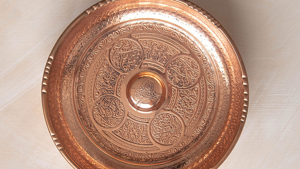Copper Hammam Bowl