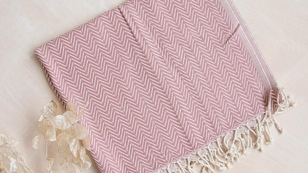 Dusky Pink Hammam Towel