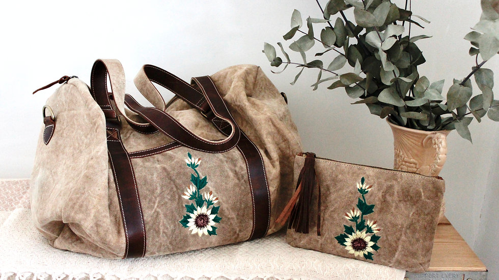 Sunflower Travel Set