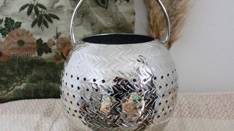 Moon Lantern in Silver