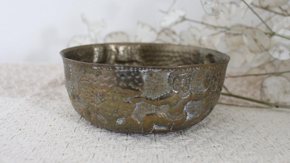 Dancing Gods Brass Bowl