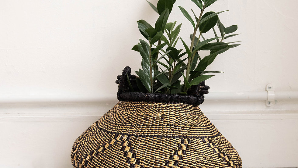 Geometric Snake Basket