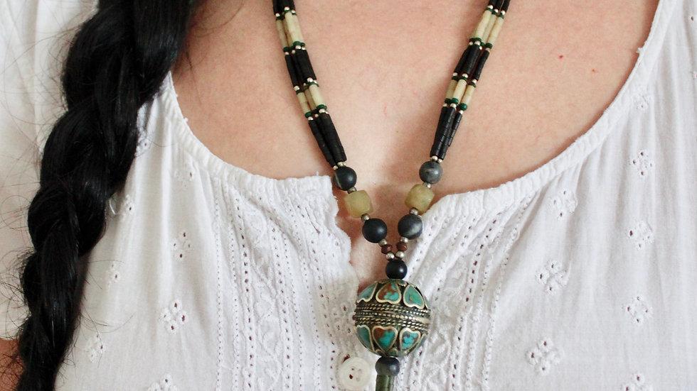 Zeta Afghan Necklace