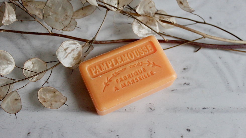 Grapefruit Soap & Travel Bag