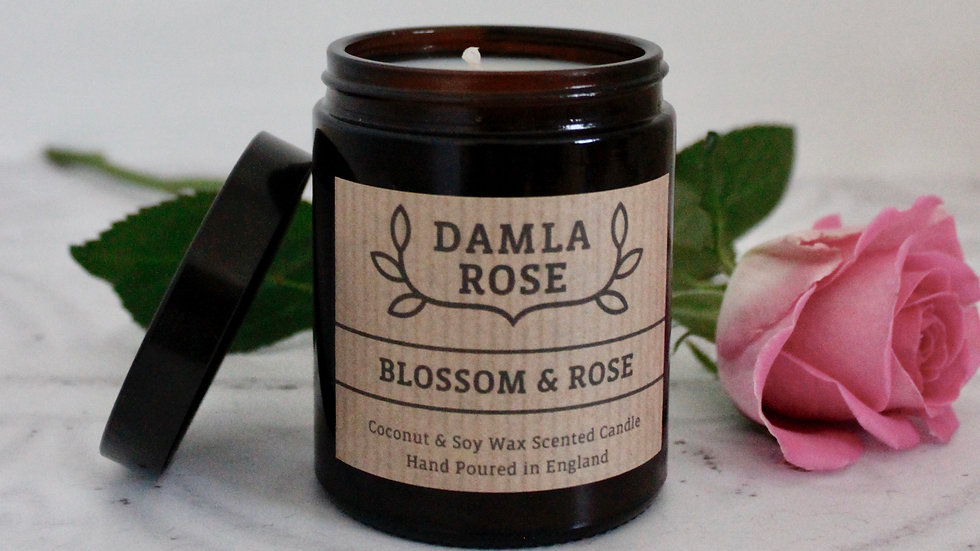 Blossom & Rose Soy Candle