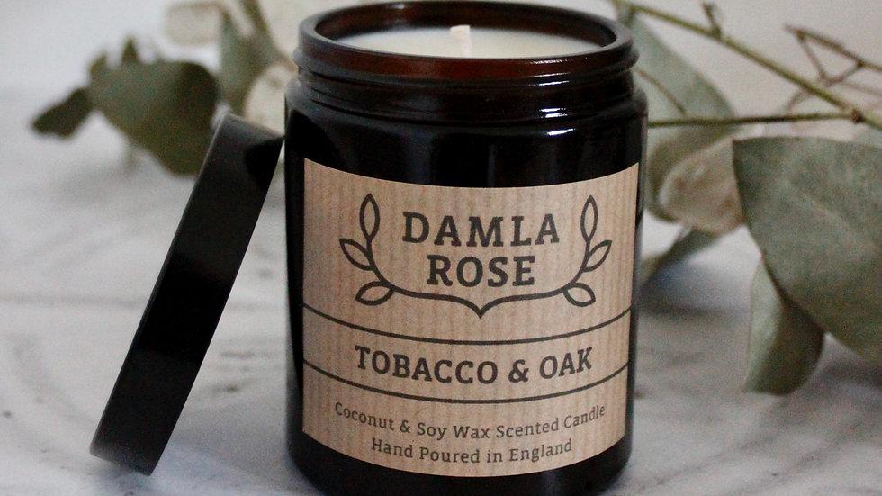 Tobacco & Oak Soy Candle