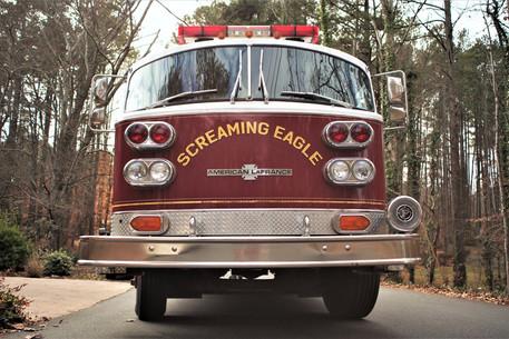Screaming Eagle Fire Truck