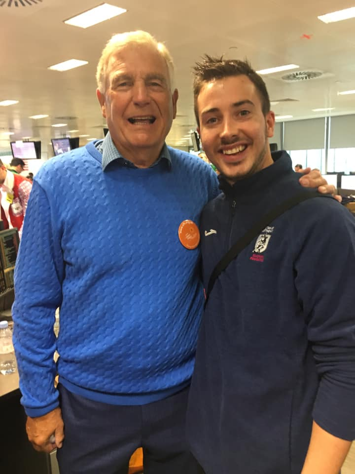 with Sir Trevor Brooking