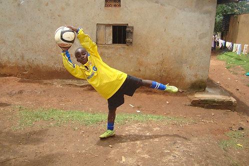 Goalkeeping Gloves for a GK in Ghana
