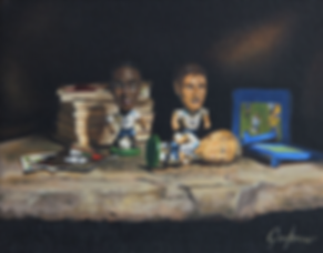 Football still life - Gary Armer.PNG