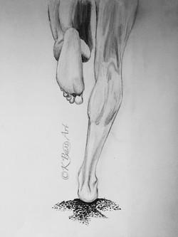 Running Legs Sketch