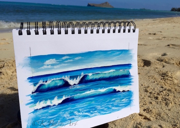 Beach Sketchbook