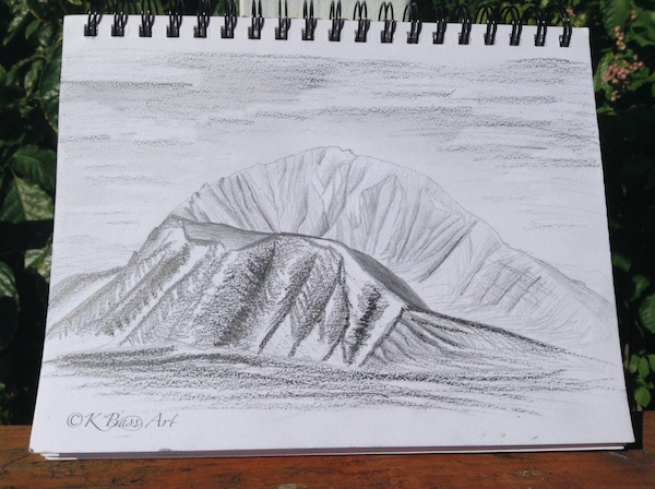Crater Drawing