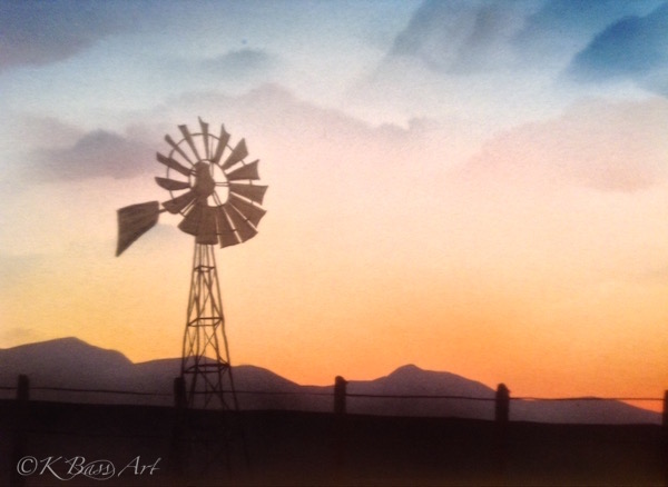 Camas Prairie Windmill II