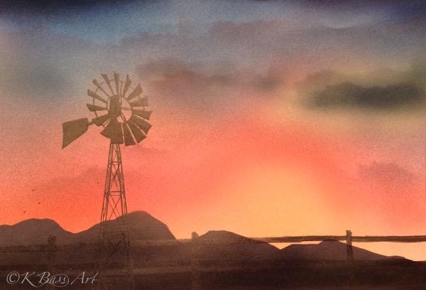Camas Prairie Windmill