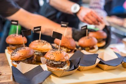 Mini Hamburgers boxes