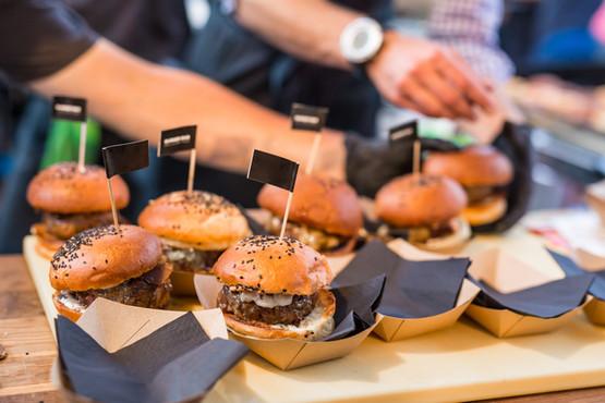 hamburgers packacing