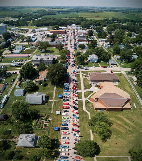 Overhead view of the 2018 Mitchell Ostry Memorial Show N Shine