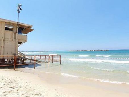 החופים של ישראל נקיים יותר