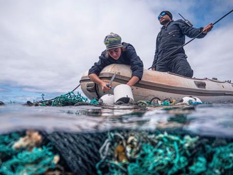 פחות 103 טונות פלסטיק מהאוקיינוס