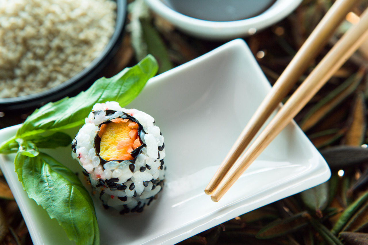 Food Photography, Sushi Roll
