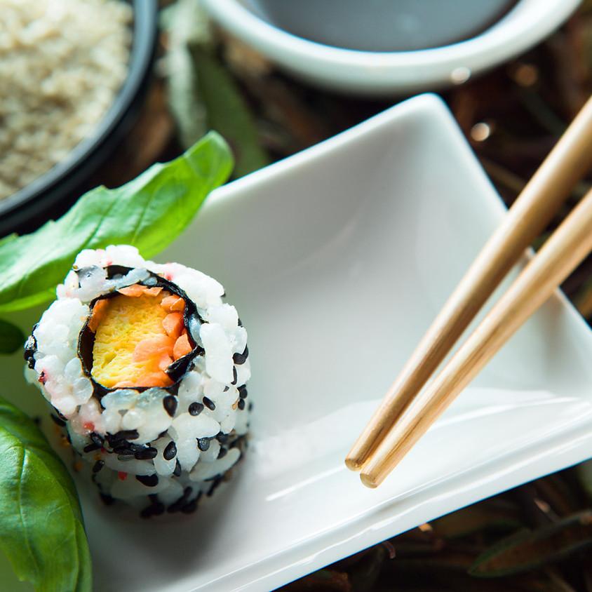 Sushi Workshop with Chef Take of Nara ~ 7 PM