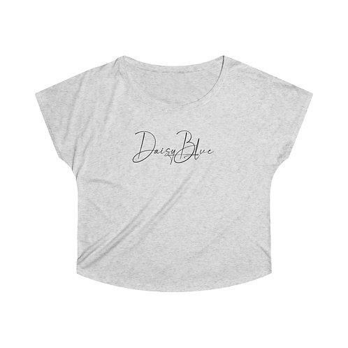 Daisy Blue Women's Tri-Blend Dolman