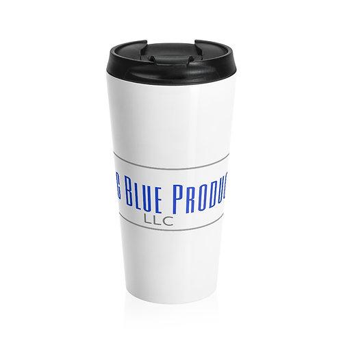 Abiding Blue Stainless Steel Travel Mug
