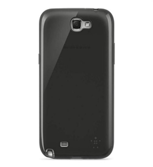 Belkin Grip Sheer Case For Samsung Galaxy Note 2 In Black