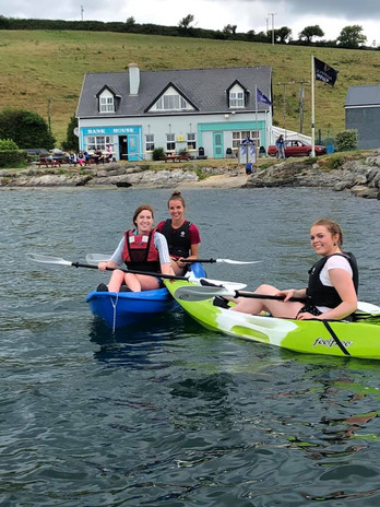 Kayaking to Whiddy Island