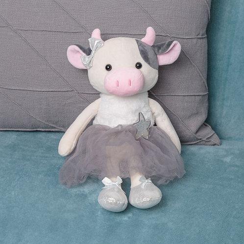 """Мягкая игрушка """"Корова в платье"""""""