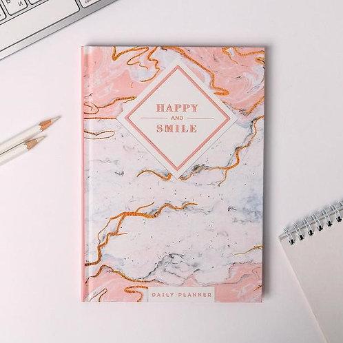 Ежедневник Happy and smile А5, 80 листов
