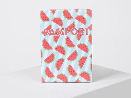 """Обложка для паспорта """"Арбузы"""""""
