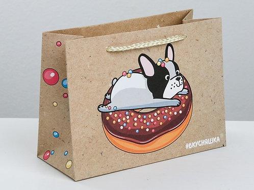 Пакет подарочный «Вкусняшка»