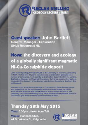 Raglan Drilling Geology Lecture Series_J
