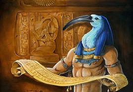 Thot Dios de la Sabiduría