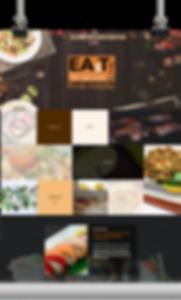 restaurant website design - by nuchdesigns.com