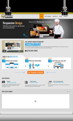 Expert Restaurant Website