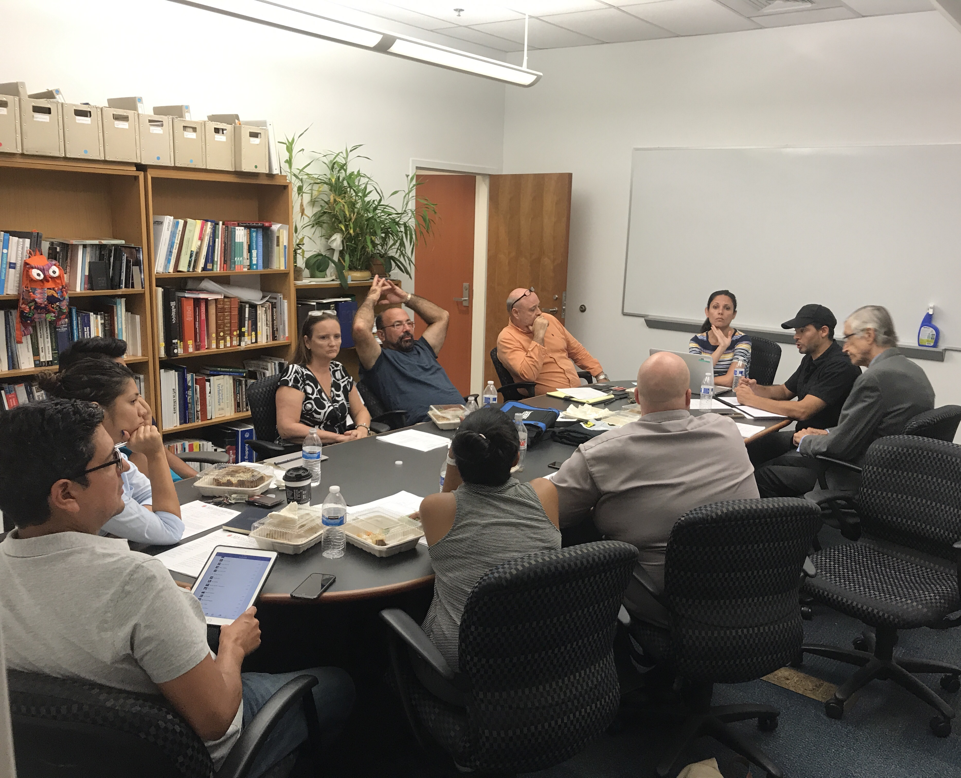 Typical Board Meeting at AIA FTL