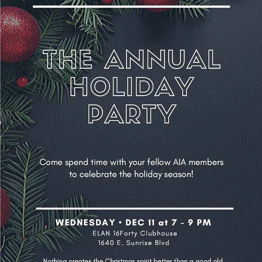 AIA Annual Holiday Party