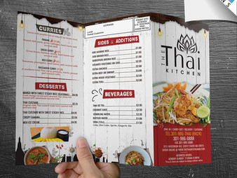 Make Your Full Custom Restaurant Menu Design Stand Out – These Mistakes are a Big No-No